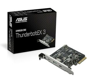 ASUS ThunderboltEX 3 Expansion Card for Z170-AR & X99-Deluxe II Motherboards