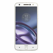BNIB Motorola Moto Z 32GB XT1650-03 White/Gold Factory Unlocked 4G/LTE Simfree