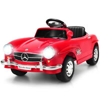 MERCEDES BENZ 300SL AMG RC Electric Toy Kids Baby Ride on Car Christmas Gift Red