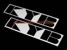 "2x 8.5"" 21.6cm KYB decal sticker JDM gas shock suspension kayaba rally helmet GT"