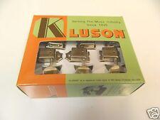 GENUINE KLUSON SUPREME KTS9105MN 6 IN LINE OVAL METAL BUTTON NICKEL RH