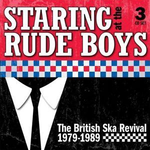 Staring At The Rude Boys: The British Ska Revival 1979-1989: Capacity  (NEW 3CD)