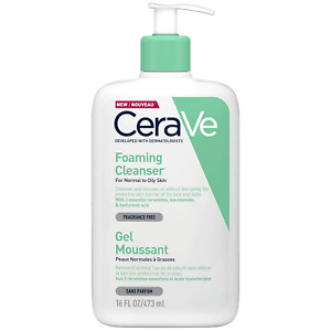 CeraVe Foaming Cleanser 473ml For Normal To Oily Skin