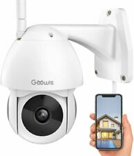 Security Camera Outdoor, Goowls 1080P Hd WiFi Home Surveillance Ip