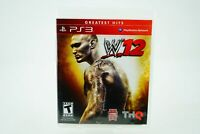 WWE '12: Playstation 3 [Factory Refurbished] PS3