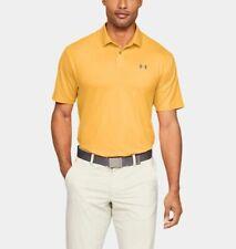 Under Armour Performance Golf Polo Orange Men's Size Large 1342080-492