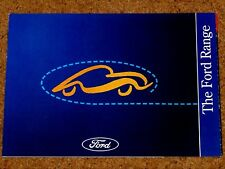 1994 FORD CARS Sales Brochure inc Escort RS Cosworth Fiesta RS1800 Mondeo Probe