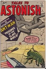 Tales to Astonish #41 Early Ant-Man Marvel Silver Age Kirby