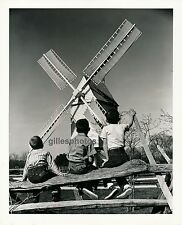 WILLIAMSBURG c. 1950 - Windmill Moulin Virginia - USA 22