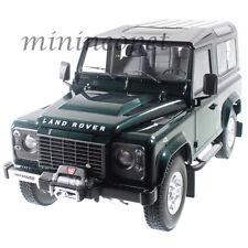 KYOSHO 08901G 1984 84 LAND ROVER DEFENDER 90 1/18 DIECAST MODEL CAR GREEN