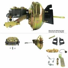 "1973-87 Chevy Truck FW Mount Power 11"" Single Brake Booster Kit LS 5.3 Disc/Drum"