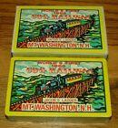 World 1st Cog Railway Jacobs Ladder MT Washington NH Souvenir Playing Card Deck