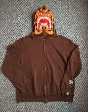 Bape Tiger Hoodie L Brown Camo Supreme OG