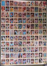 1981 Donruss Baseball 1st Edition Collector Series Un-Cut Sheet Lot Of 5 Sheets