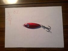 5-Hand Made 3/4 oz shad jigging spoons ( ruby slipper )