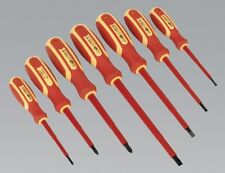 Sealey S0756 Screwdriver Set 7pc Electrician's VDE Approved