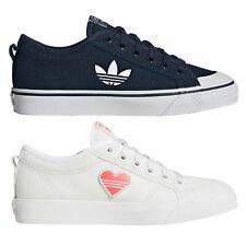 adidas Originals Nizza Trefoil Damen-Sneaker Schuhe Freizeitschuhe Sommerschuhe