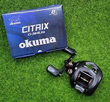 Okuma Citrix 6.4:1 Low-Profile Baitcast Reel, Left Hand - Ci-364LXa