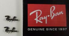 New Authentic RAY-BAN RB2132 Wayfarer Written Decoration Icon Replacements, 1 pr