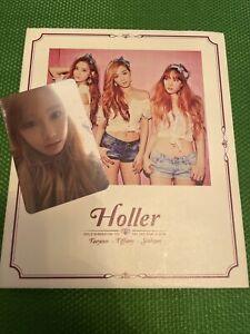 GIRLS' GENERATION TAETISEO 2nd Mini Album Holler CD+PHOTOCARD SNSD