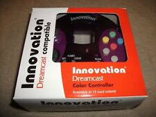 INNOVATION - DREAMCAST CONTROLLER Clear Purple BRAND NEW! Boxed