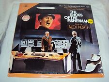 """""""THE SHOES OF THE FISHERMAN"""" 1968 SOUNDTRACK Music by ALEX NORTH - NEW! SEALED!"""