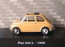 FIAT 500 L YELLOW TUFO STARLINE 514545 1/43 DIE CAST IPOD 1968 JAUNE GELB