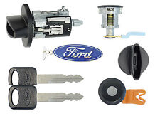 Ford RANGER 1997-2007 P/U - Ignition & (Black) Door Lock Cylinders with 2 Keys