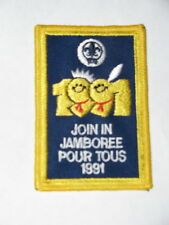 World Jamboree 1991 (Korea) Canada Join-in Pocket Patch
