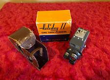 Vintage Mansfield Holiday II / 2 Standard 8mm Film Movie Camera.
