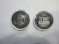 Apollo 40th Anniversary Medallion Contains Metal Flown to the Moon on Apollo