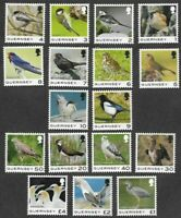 Guernsey Birds new issue complete set 2021 mnh