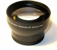 52mm 2.0x Tele Conversion Lens for Nikon 18-55mm lens D750 D3300 not for AF-P