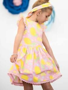 Clara Dress Pink Lemonade