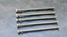 3mm x 70mm longue fendue machine vis M3 écrou + rondelle new pack quantité de 5