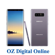"NEW Samsung Galaxy Note 8 Dual Sim N950 64GB Grey 4G 6.3"" Unlocked Phone 1YrWty"