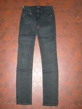 Jean slim pantalon noir femme CIMARRON taille 36 / 38