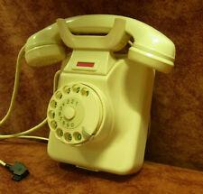 Jubiläum!55! W49 altes Telefon Bakelit Wandtelefon TI-WA Telephone Top elfenbein
