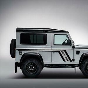 landrover dedender 90 side sticker stripe available in any colour