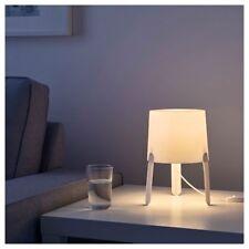 IKEA TVÄRS Tvars Table Desk Cafe Lamp Light Bedside Modern Minimalist White