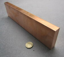 """New listing 110 Copper Bar 1/2 Hard, 3/4"""" Thick x 3.0"""" Wide x 1 Ft Length"""
