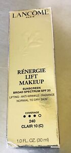 Lancome Renergie Lift Makeup  SOF 20 NIB