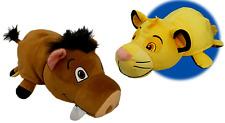 "New - 14"" Disney Lion King Pumba to Simba FlipaZoo 2 in 1 Plush - Free Ship!"