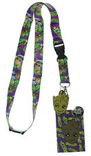 Guardians of The Galaxy Groot Lanyard with Breakaway Key Strap