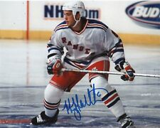 New York Rangers Manny Malholtra Autographed Signed 8x10 NHL Photo COA D