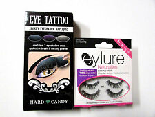 Eye Tattoo by hard candy / Eye lash by Eylure all New ( No adhesive for lash)