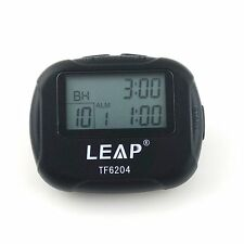 Black Portable LCD Interval Timer for Tabata Fitness Training Boxing Yoga H6204