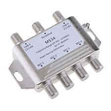 3 x 4 Satellite Switch Multi-Switch 3-In/4-Out MS34