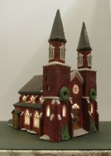 New listing Dept. 56 Heritage Village Collection Dickens' Village Series BRICK ABBEY #6549-8