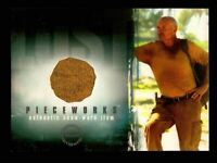 Lost Season 1 One PW-6 Terry O'Quinn as John Locke Pieceworks Costume Card